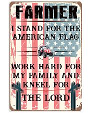 Proud Farmer's Canvas and Posters 11x17 Poster front