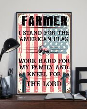 Proud Farmer's Canvas and Posters 11x17 Poster lifestyle-poster-2