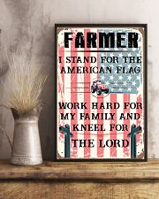 Proud Farmer's Canvas and Posters 11x17 Poster lifestyle-poster-3