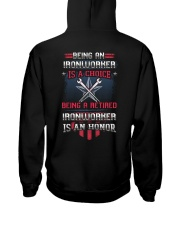 Being A Retried Ironworker Is Truly An Honor Hooded Sweatshirt thumbnail