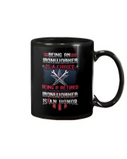 Being A Retried Ironworker Is Truly An Honor Mug thumbnail