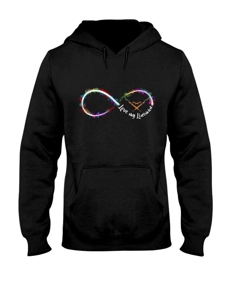 Love My Lineman - Infinity Loop Hooded Sweatshirt