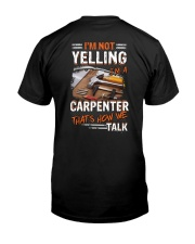 That's How We Talk Carpenter Classic T-Shirt back