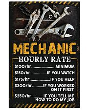 Awesome Mechanic's Canvas and Posters 11x17 Poster front