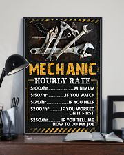 Awesome Mechanic's Canvas and Posters 11x17 Poster lifestyle-poster-2
