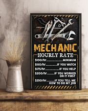 Awesome Mechanic's Canvas and Posters 11x17 Poster lifestyle-poster-3