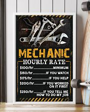 Awesome Mechanic's Canvas and Posters 11x17 Poster lifestyle-poster-4