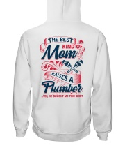 Best Kind Of Mom Raises A Plumber Hooded Sweatshirt thumbnail