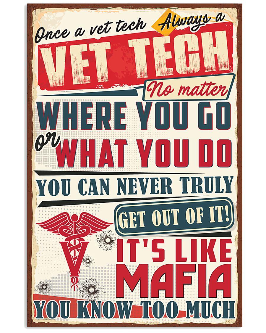 Truly Vet Tech 11x17 Poster
