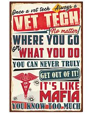 Truly Vet Tech 11x17 Poster front