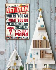 Truly Vet Tech 11x17 Poster lifestyle-holiday-poster-2