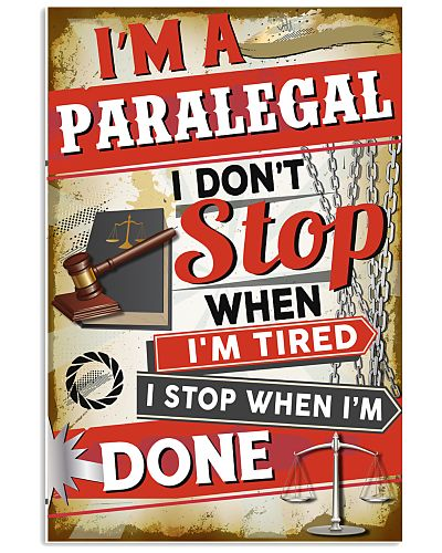 Awesome Paralegal's Canvas and Posters