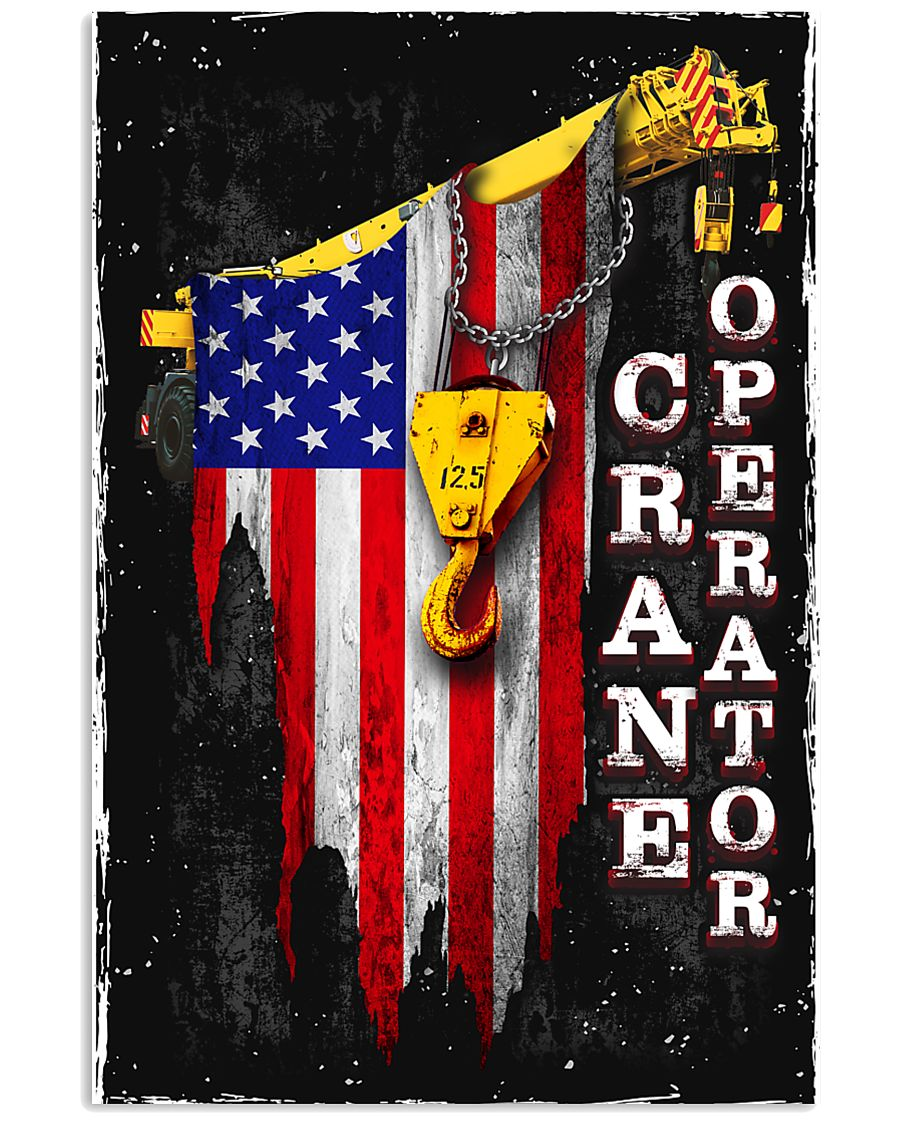 Proud Crane Operator 11x17 Poster