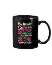 Bartender Nice Button Is Out Of Order Funny Mug thumbnail