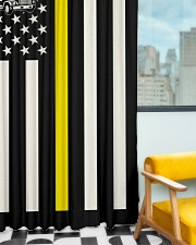Tow Truck Operator USA Flag Window Curtain - Blackout aos-window-curtains-blackout-50x84-lifestyle-front-01