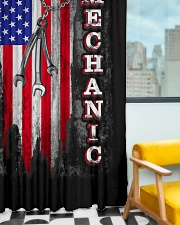 Mechanic USA Flag Window Curtain - Blackout aos-window-curtains-blackout-50x84-lifestyle-front-01
