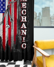 Mechanic USA Flag Window Curtain - Blackout aos-window-curtains-blackout-50x84-lifestyle-front-03
