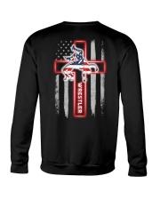 Proud Wrestler Crewneck Sweatshirt back