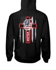 American Flag Welder T-Shirt and Hoodie Hooded Sweatshirt thumbnail
