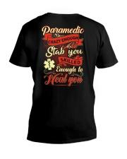 Awesome Paramedic Shirt V-Neck T-Shirt thumbnail