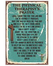 Physical Therapist Prayer 11x17 Poster front