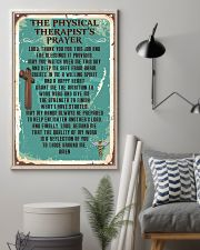 Physical Therapist Prayer 11x17 Poster lifestyle-poster-1
