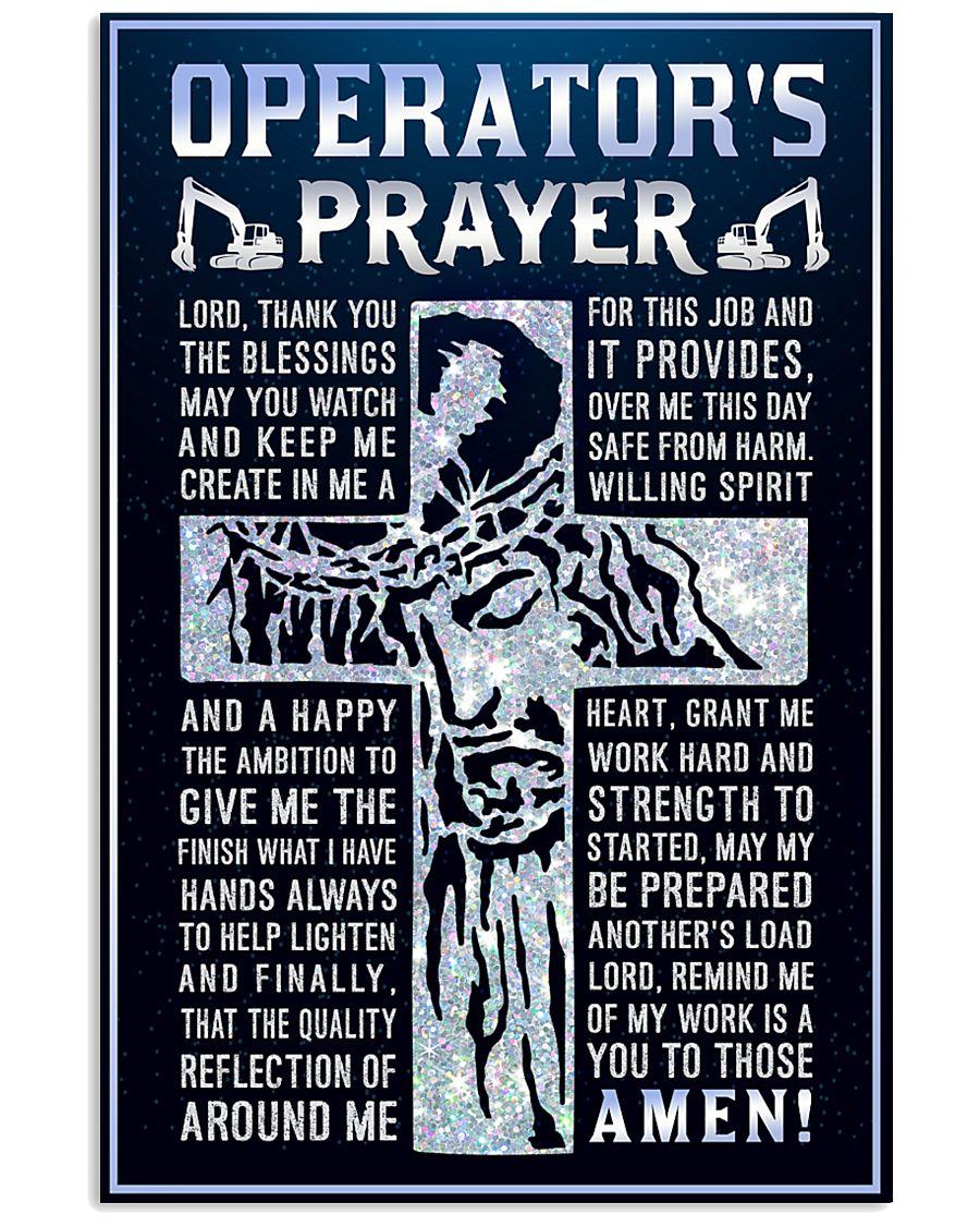 Operator's Prayer 11x17 Poster