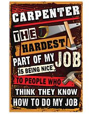 Awesome Carpenter's Canvas and Posters 11x17 Poster front