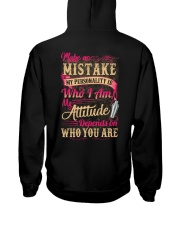 Bartender- My Attitude Depends On Who You Are Hooded Sweatshirt thumbnail