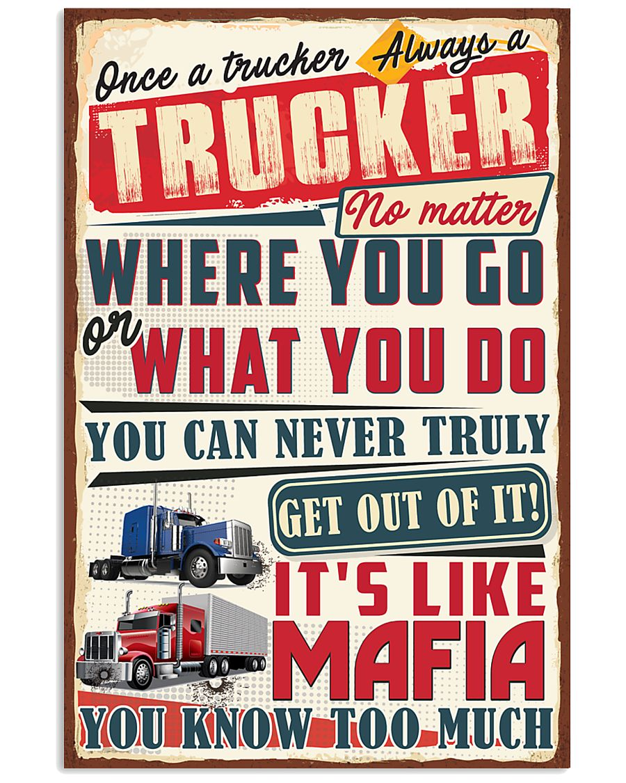 Truly Trucker 11x17 Poster