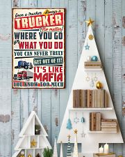 Truly Trucker 11x17 Poster lifestyle-holiday-poster-2