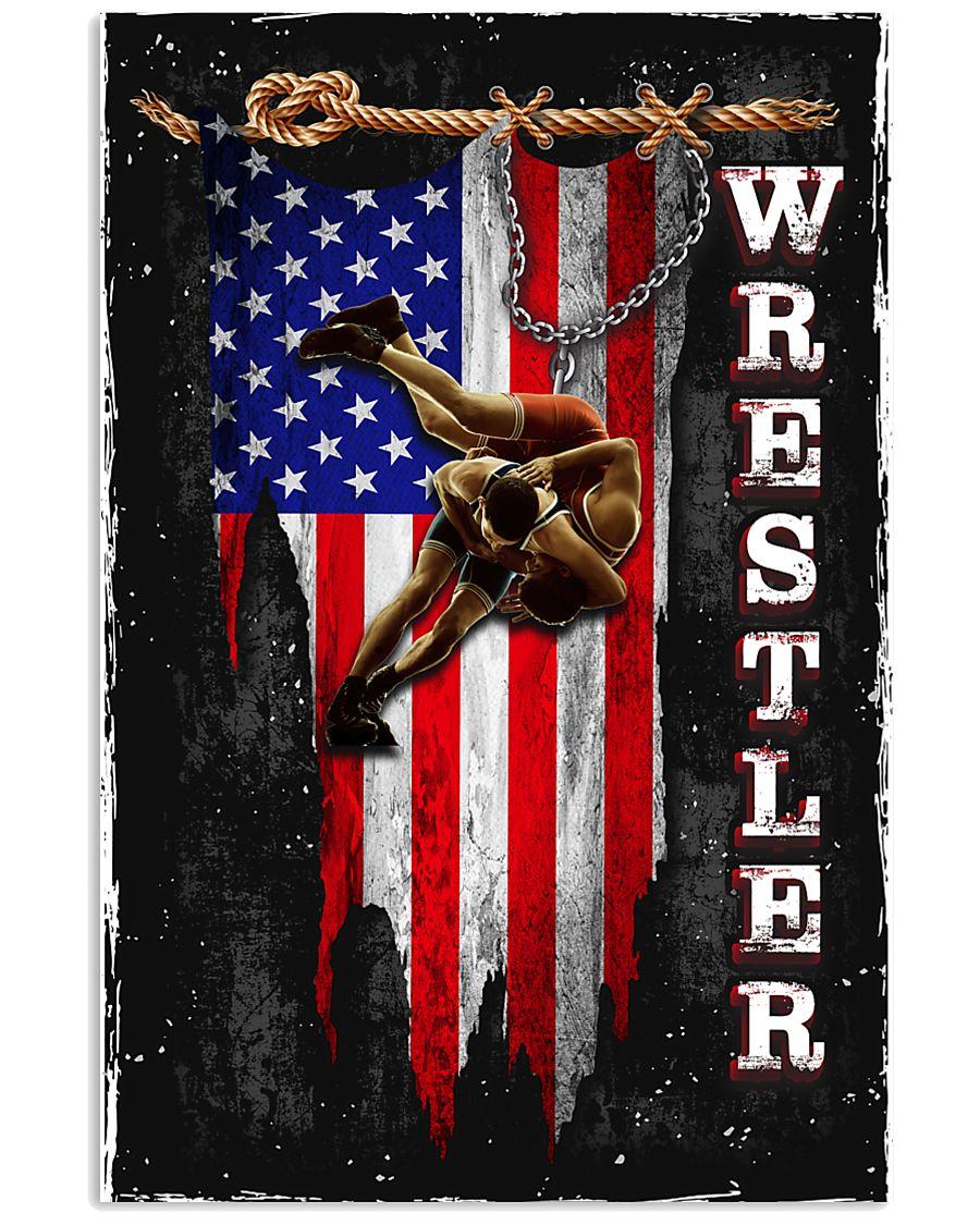 Proud Wrestler 11x17 Poster