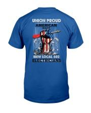 IBEW LOCAL 602 Classic T-Shirt back