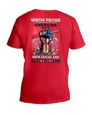 IBEW LOCAL 602 V-Neck T-Shirt thumbnail