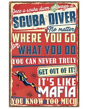 Scuba Divers Mafia Poster 11x17 Poster front