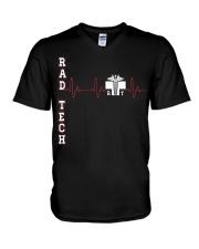 Rad Tech - Beat V-Neck T-Shirt thumbnail