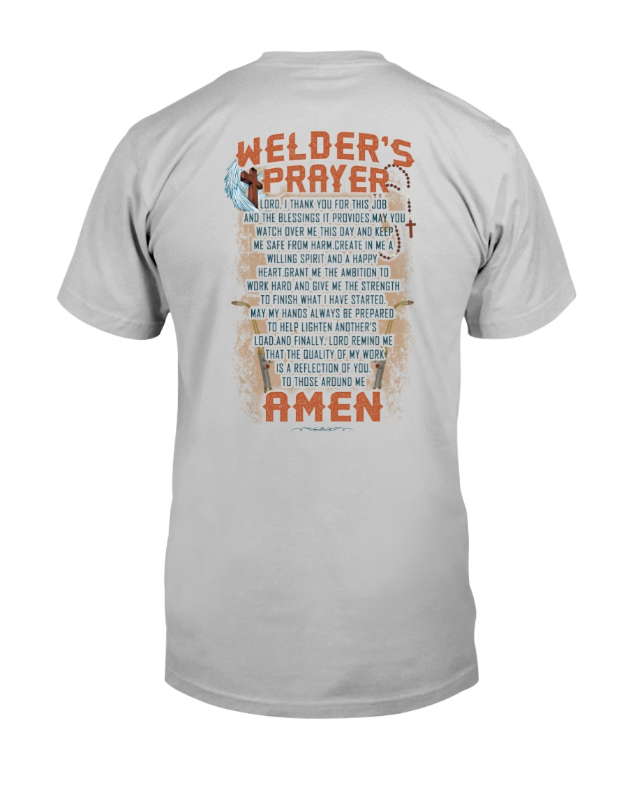 Welder's Prayer  Classic T-Shirt
