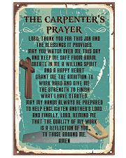 Proud Carpenter's Canvas and Posters 11x17 Poster front