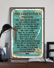 Proud Carpenter's Canvas and Posters 11x17 Poster lifestyle-poster-2