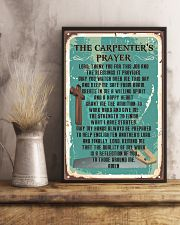 Proud Carpenter's Canvas and Posters 11x17 Poster lifestyle-poster-3