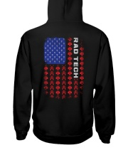 Rad Tech-American Flag Pattern Hooded Sweatshirt thumbnail