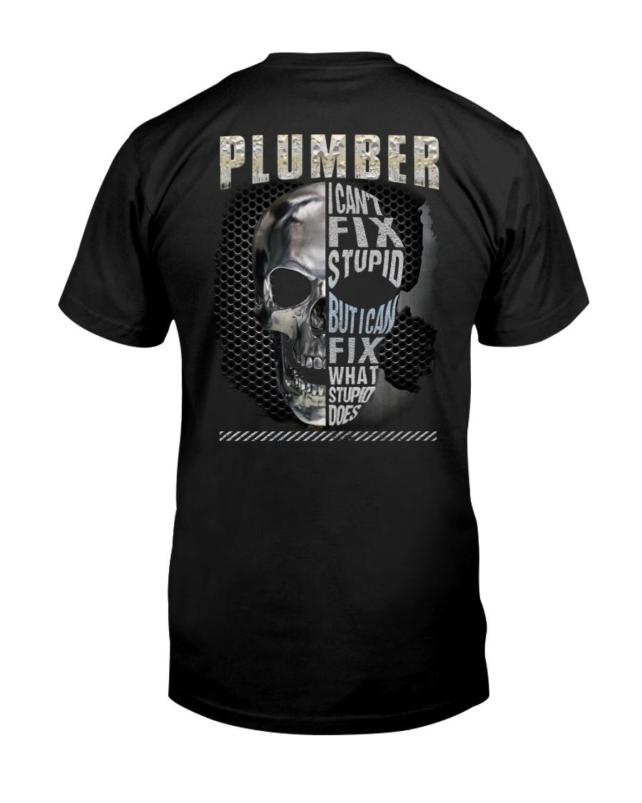 Sarcastic Plumber Shirt Classic T-Shirt