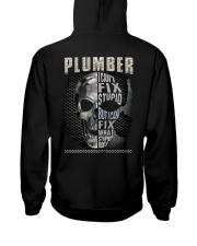 Sarcastic Plumber Hooded Sweatshirt thumbnail