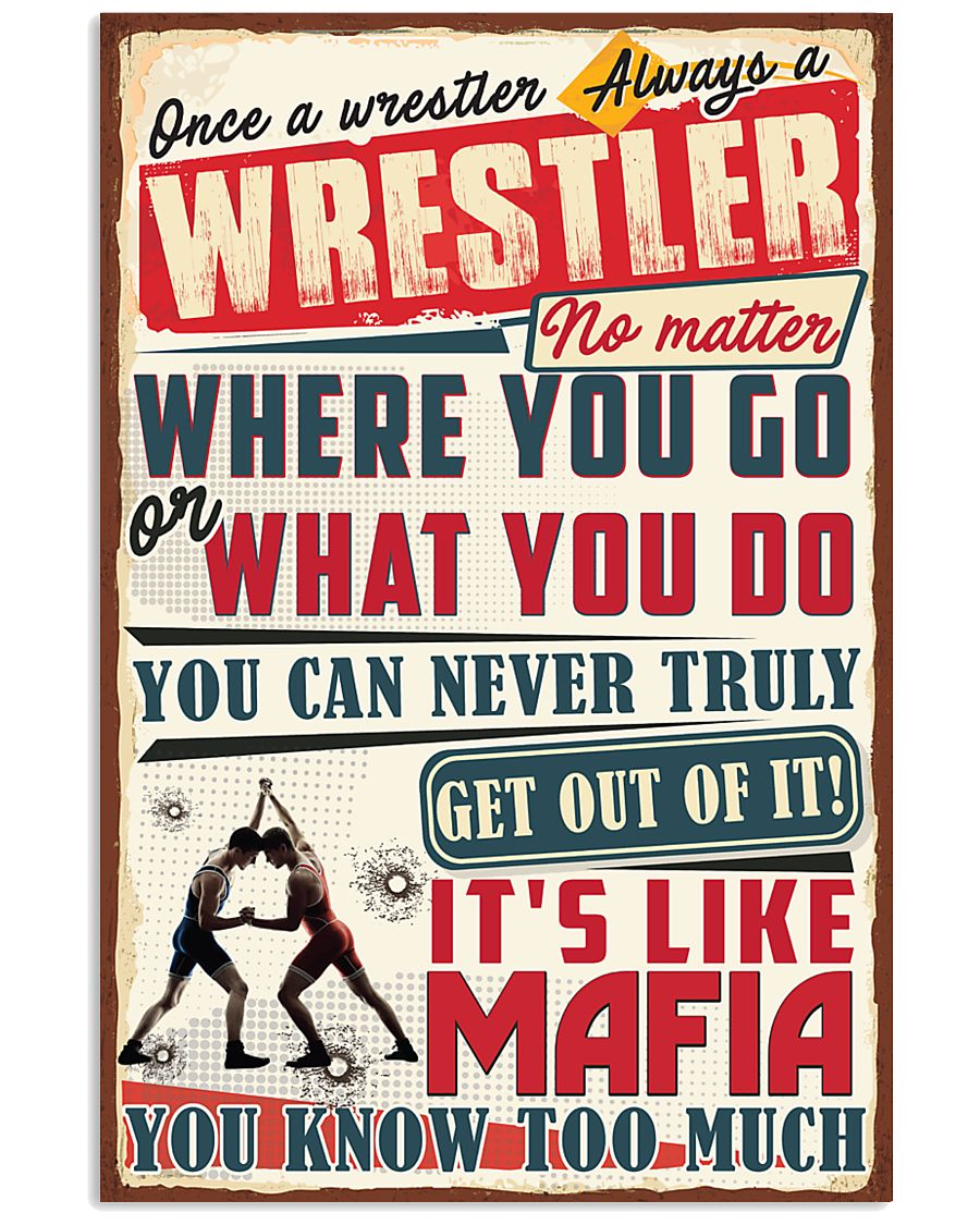 Truly Wrestler 11x17 Poster