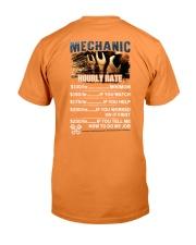 Mechanic Hourly Rate Shirt and Hoodie  Premium Fit Mens Tee thumbnail