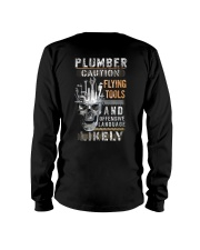 Plumber Caution - Flying Tools Long Sleeve Tee thumbnail