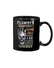 Plumber Caution - Flying Tools Mug thumbnail
