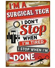 Awesome Surgical Tech's Canvas and Posters 11x17 Poster front