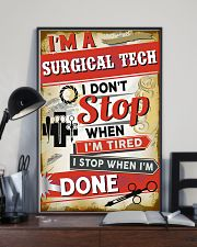 Awesome Surgical Tech's Canvas and Posters 11x17 Poster lifestyle-poster-2