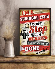 Awesome Surgical Tech's Canvas and Posters 11x17 Poster lifestyle-poster-3